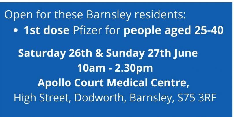 Saturday 26th June Sunday 27th 10am - 2.30pm Appollo Court Medical Centre,