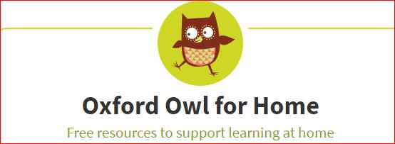 Oxford Owl – Year 3 2019-20